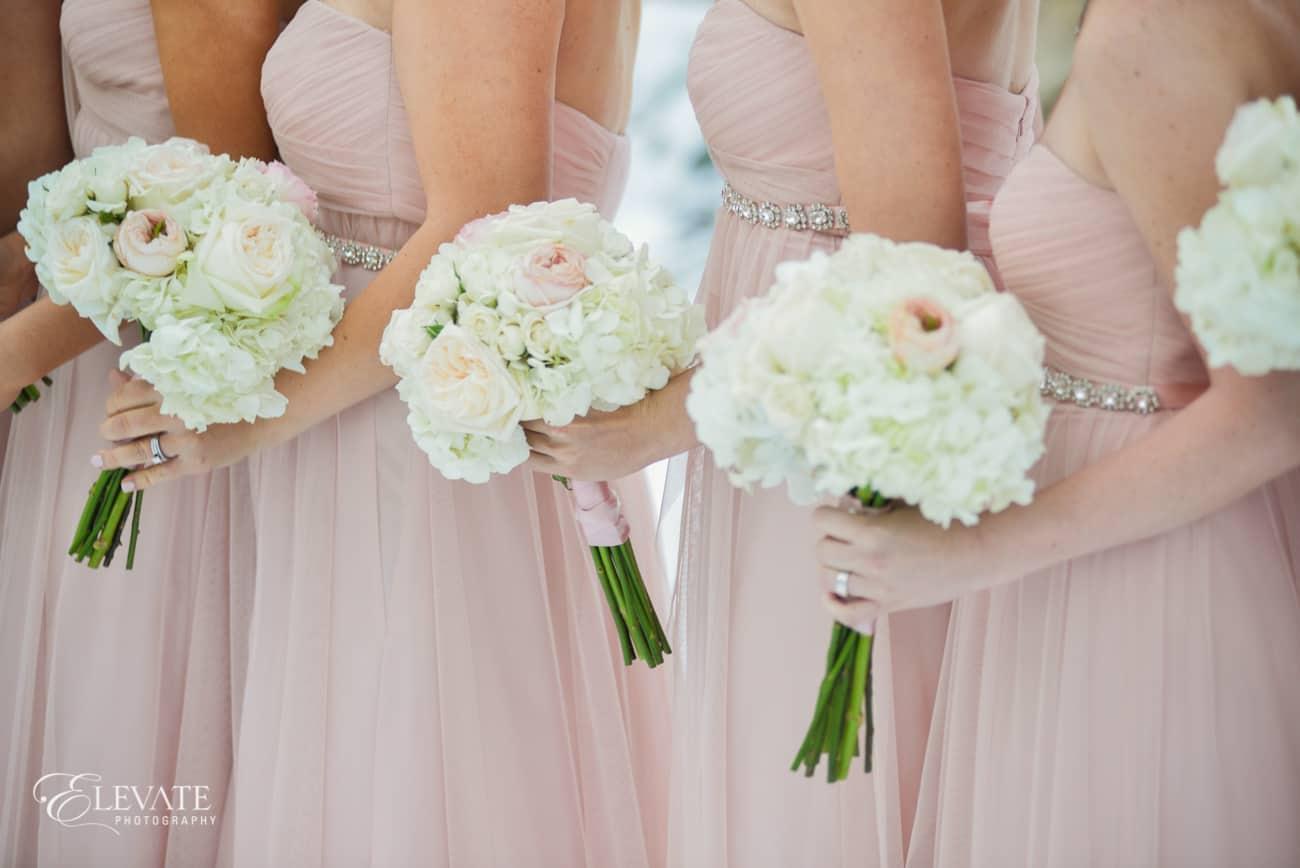 blush wedding perfect petal
