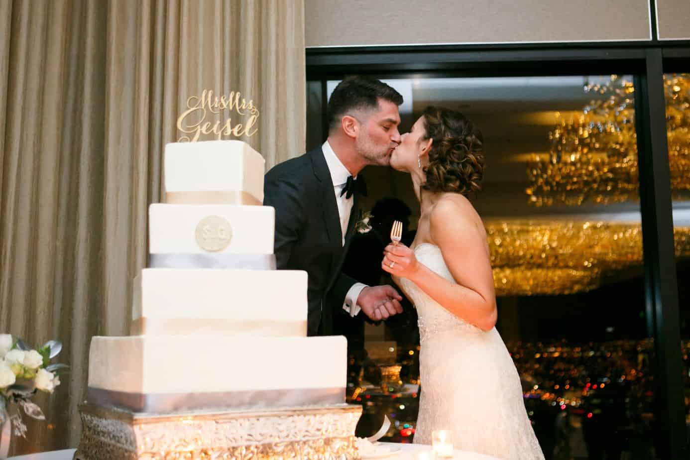 square wedding cake_grand hyatt_cloud 9