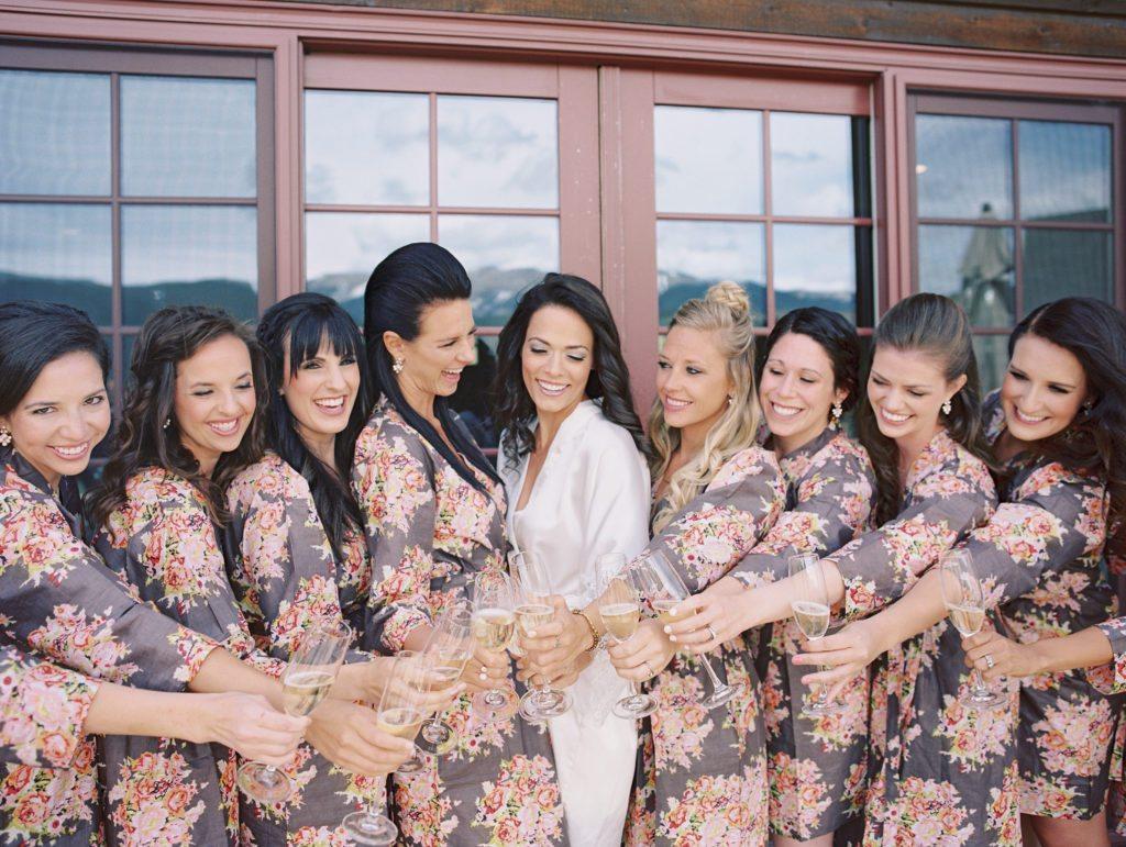 bridemaids robes