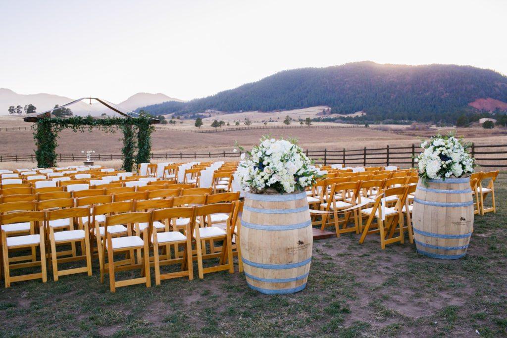 trey's vista wedding ceremony