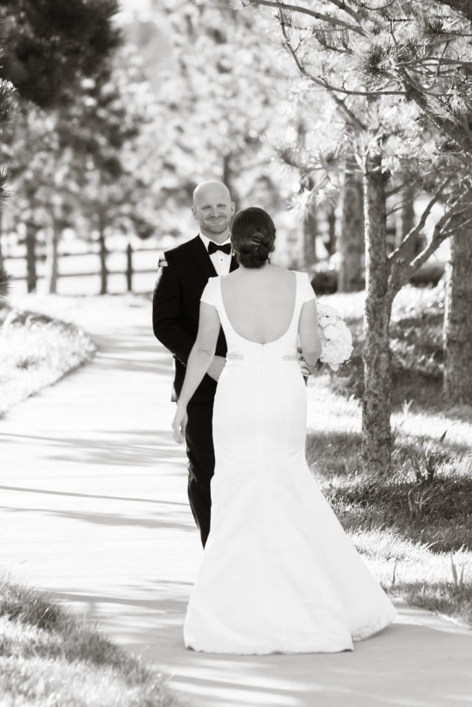 black and white first look