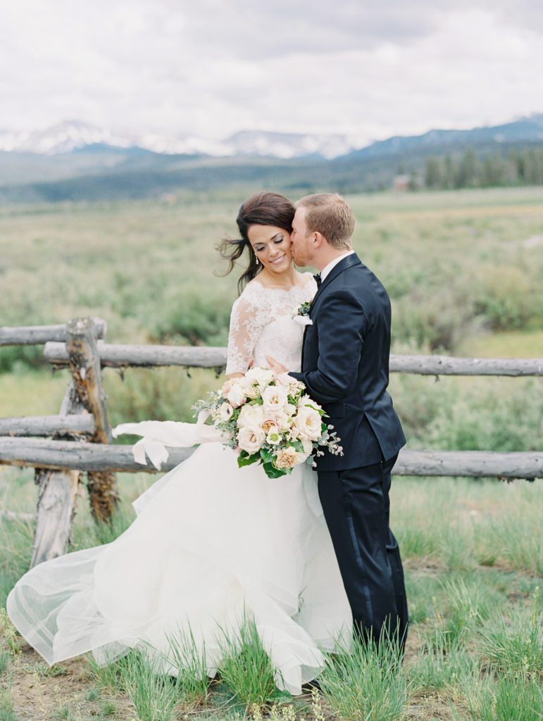 Devil's Thumb Ranch Wedding Colorado