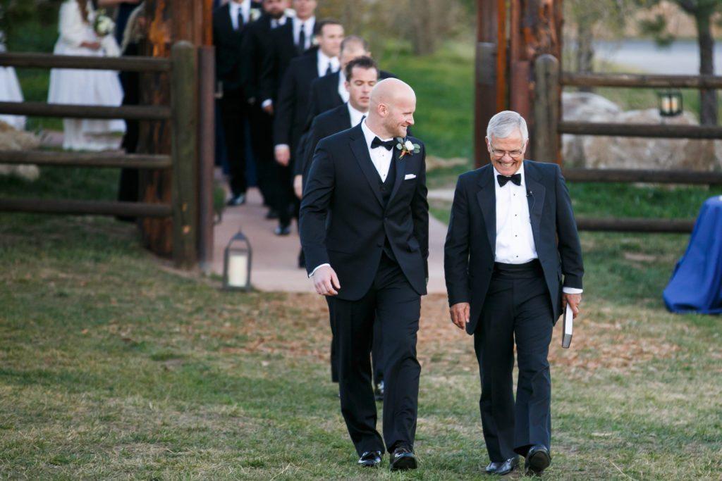 grooms men Denver wedding planner