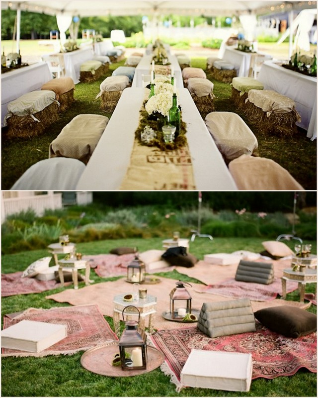 Outdoor Wedding Seating Ideas: Unique Seating For The Ceremony And Reception