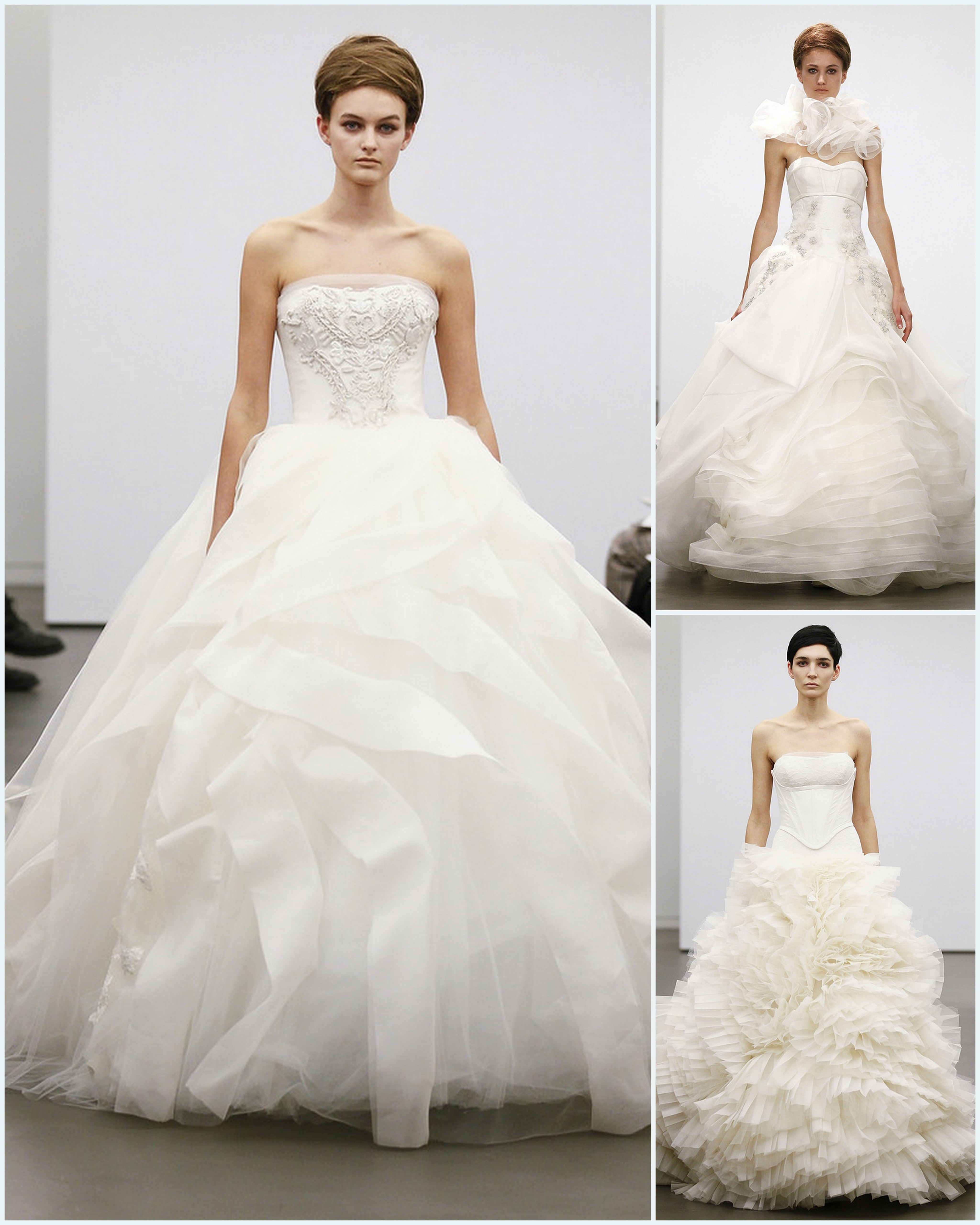 Vera Wang 2013 Fall Bridal Gown Collection