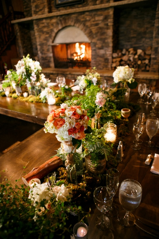 head table centerpiece by perfect petal