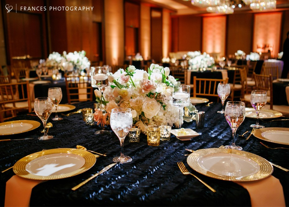 navy and gold wedding_denver wedding planner_four seasons