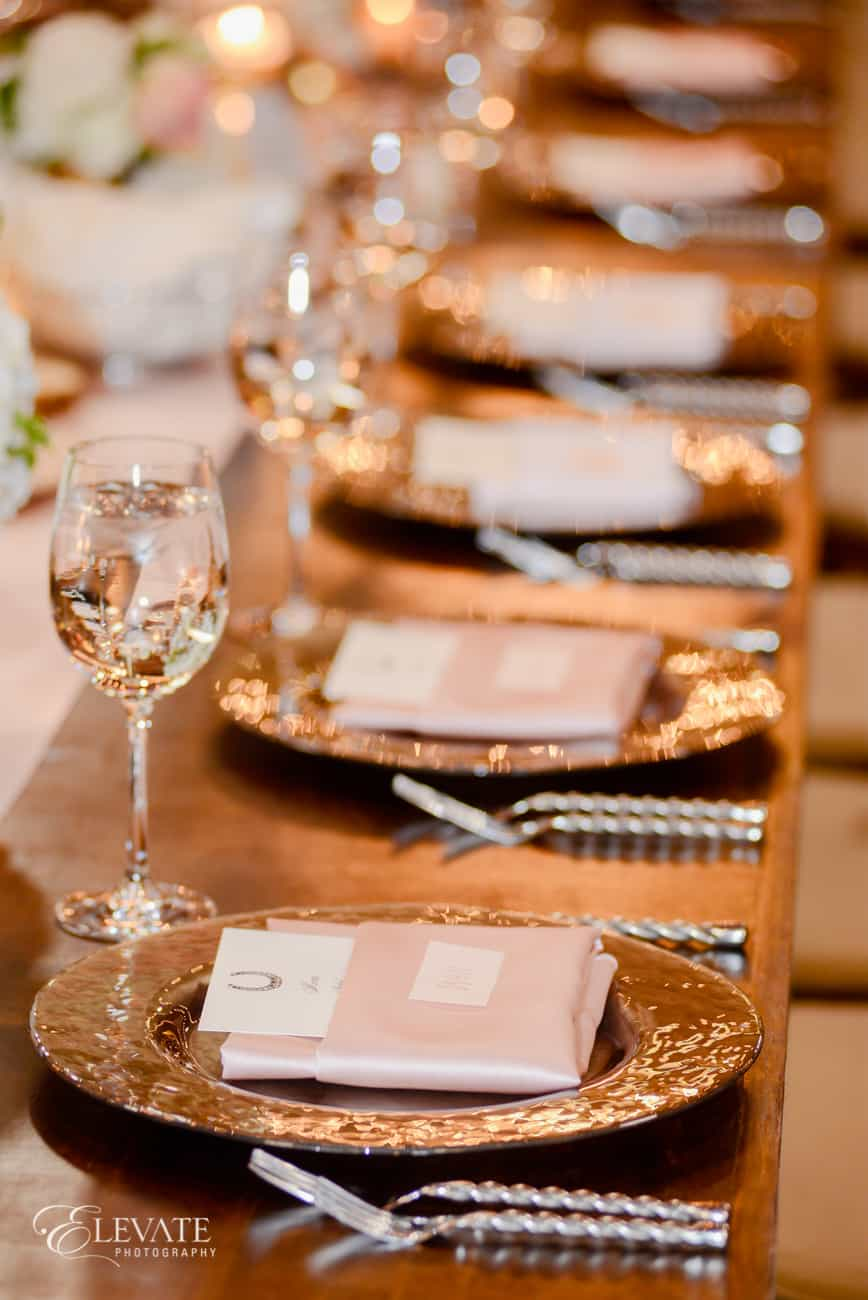 event rents tableware