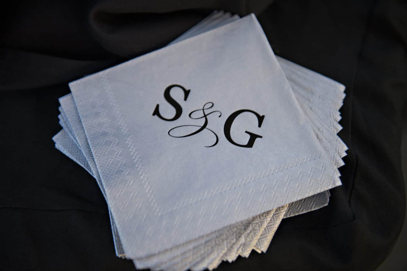 personalized napkins by cloud 9
