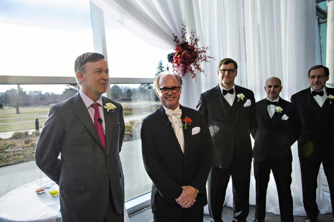 museum of nature and science wedding ceremony