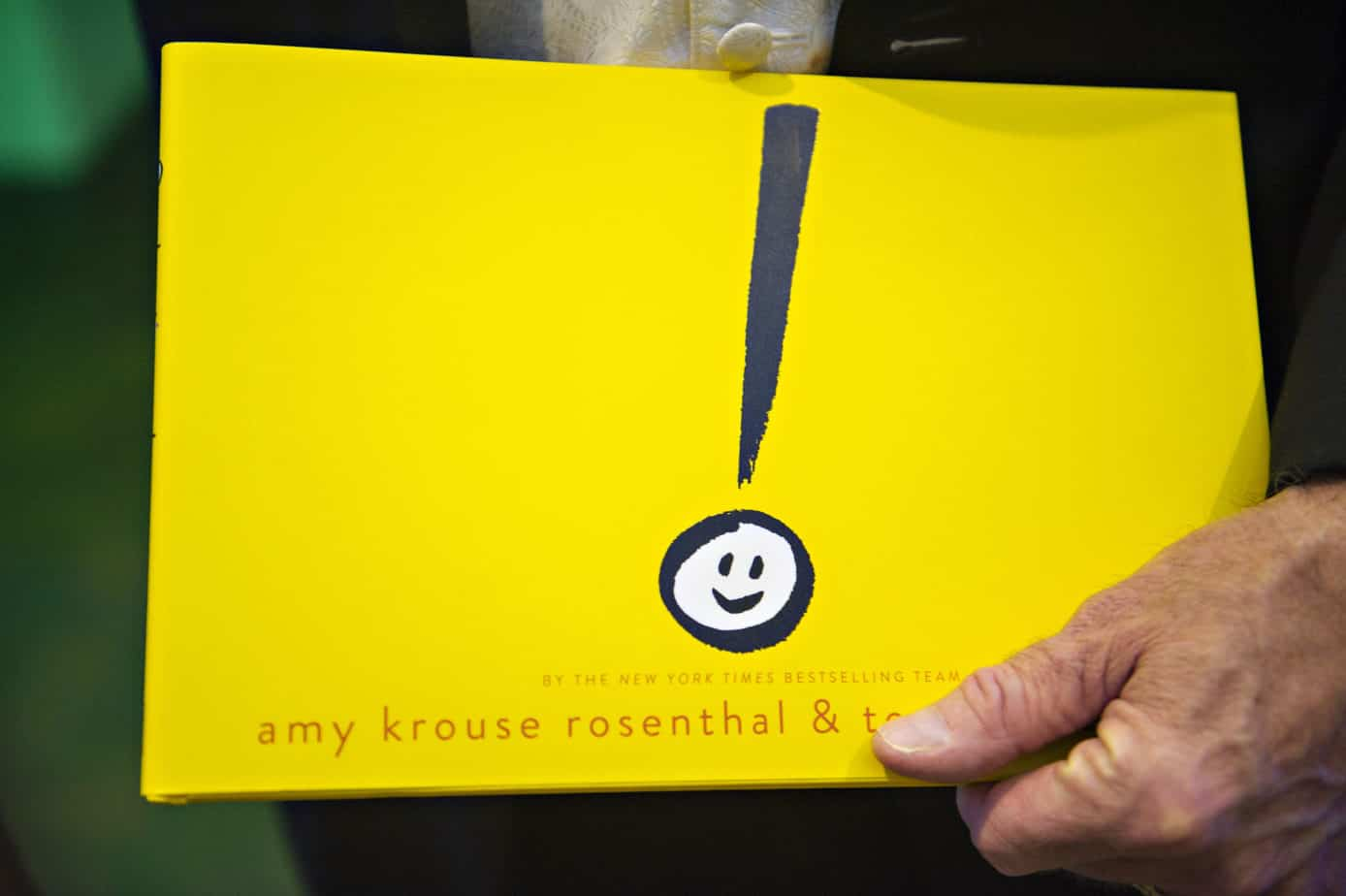 exclamation mark book
