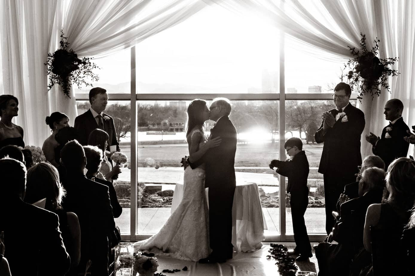 nature and science wedding ceremony by cloud 9