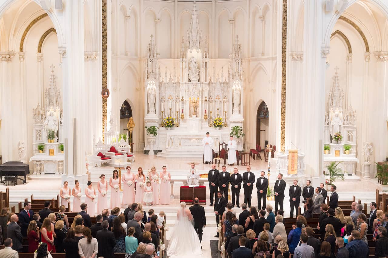 elegant_blush-white_wedding_cloud-9_cathedral-of-immaculate-conception