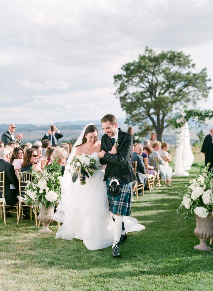 Scottish colorado wedding maria and craig cloud 9 weddings scottish wedding ceremony junglespirit Image collections