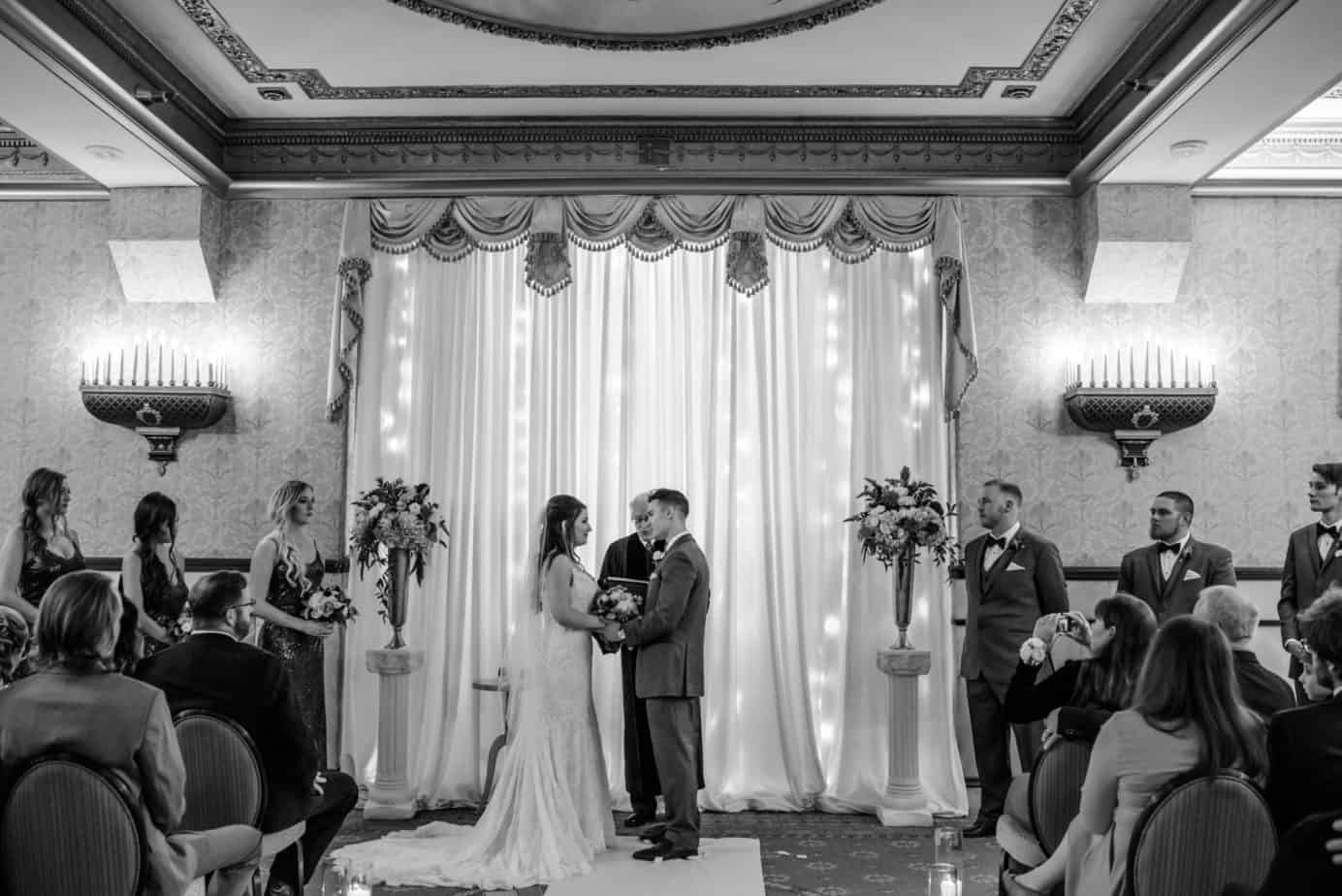 Brown Palace Hotel Fall Burgundy and Gold Wedding | Cloud 9 ...